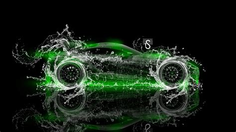 abstract wallpaper neon green toyota ft 1 water abstract car 2014 el tony
