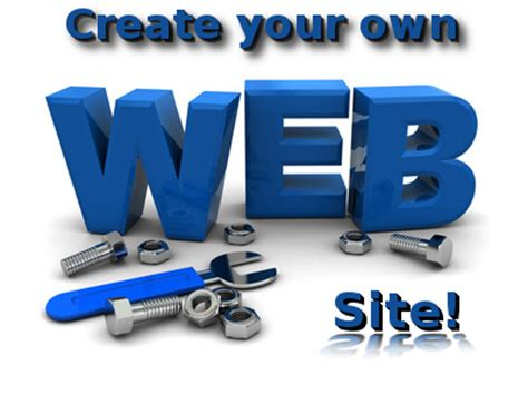 make your own website softwares and much how to create your own website