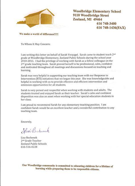 appreciation letter for kg appreciation letter from kindergarten student 28 images