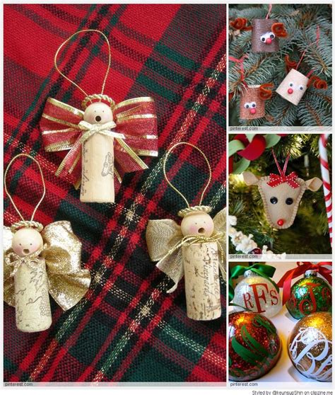 home made christmas decorations homemade christmas ornaments