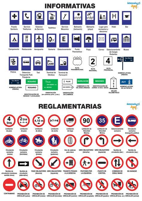 las imagenes informativas 59 senales de transito 1 senales reglamentarias