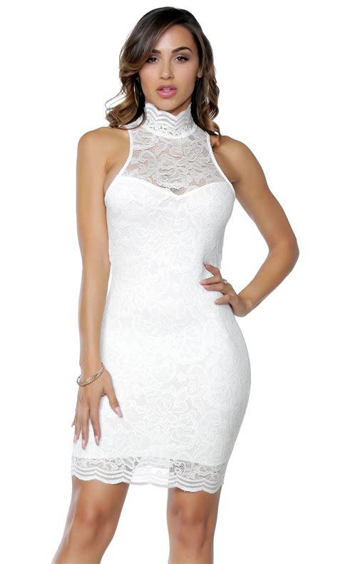 Ij Lg Dress Lawren lace mini dress