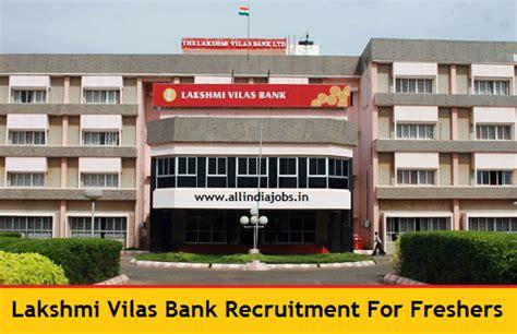 laksmi vilas bank lakshmi vilas bank recruitment 2018 2019 clerk po and so