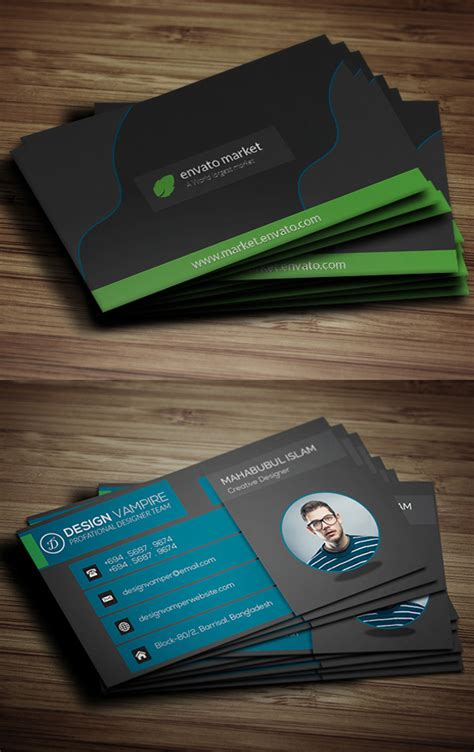visiting card templates free software free business cards psd templates mockups freebies
