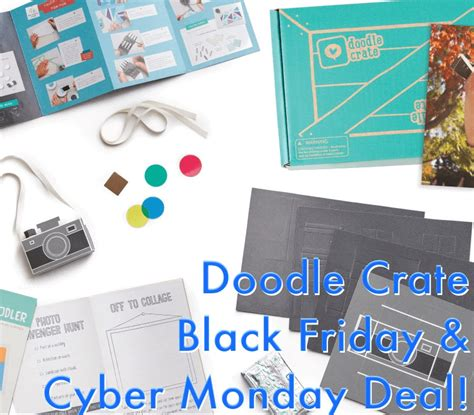 doodle 4 notifications doodle crate cyber monday coupon creative subscription
