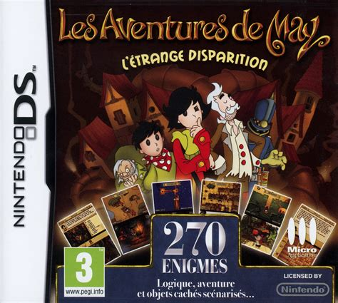 les aventures de may l etrange disparition sur nintendo