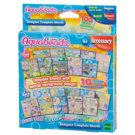 Products Aquabeads Aquabeads Template Sheets Set
