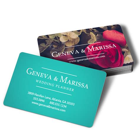 Rounded Edge Business Cards rounded corner business card printing rounded edge cards