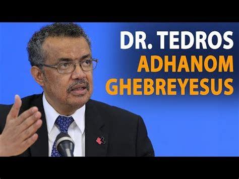 tedros adhanom ghebreyesus video tedros on combatting sexual harassment at who devex