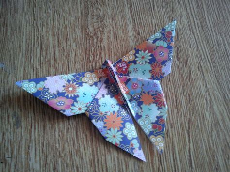 Traditional Origami Butterfly - traditional origami butterfly by nixgaunt on deviantart