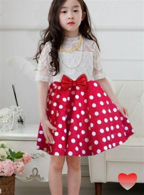 Dress Anak Dress dress anak perempuan motif polkadot cantik model terbaru