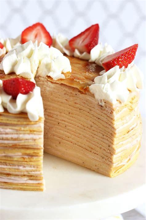 21 Unique Crepe Cake Recipes   Mom Spark   Mom Blogger