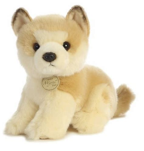 puppy plush 10 inch miyoni akita puppy plush stuffed animal by ebay