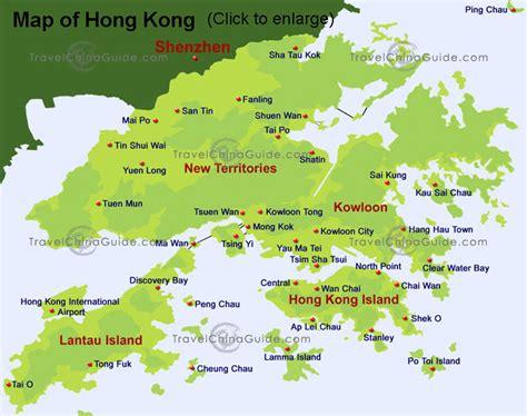 map of hong kong hong kong china map and hong kong china satellite image