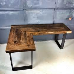 Rustic Desk Ideas Best 20 Wood And Metal Desk Ideas On Painted Metal Desks Desk With File Cabinet