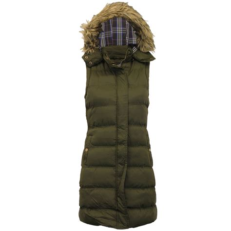 Womens Quilted Gilet by Gilet Brave Soul Womens Bodywarmer Hooded