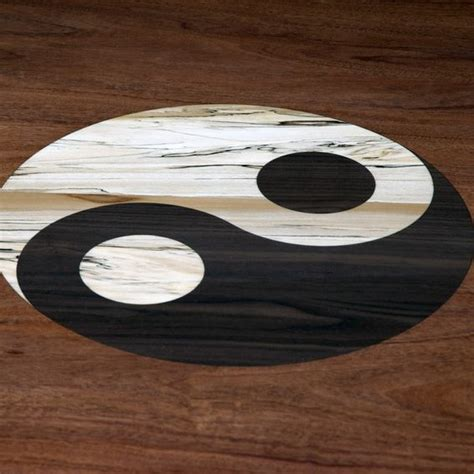 yin yang table handmade yin yang tean table by myers design inc