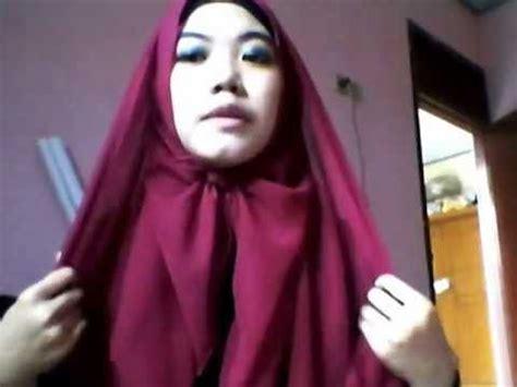 tutorial hijab paris tanpa peniti tutorial hijab paris tanpa peniti dan pentul 1 youtube