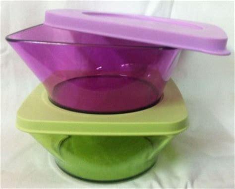 Clear Square Bowl Tupperware 1pcs tupperware clear square microfibre bowl set