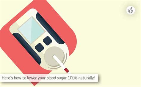 blood sugar level naturally