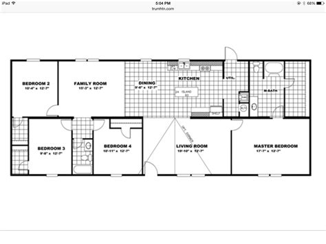 Clayton Tru Quot The Tyson Quot Tru Manufactured Homes Floor Plans