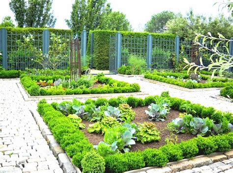 Potager Garden Design Ideas Plans Layout And Tips For Square Garden Design