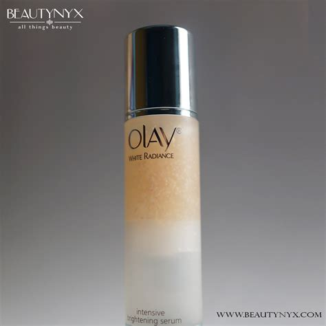 Olay White Radiance Brightening olay white radiance intensive brightening serum review b e a u t y n y x