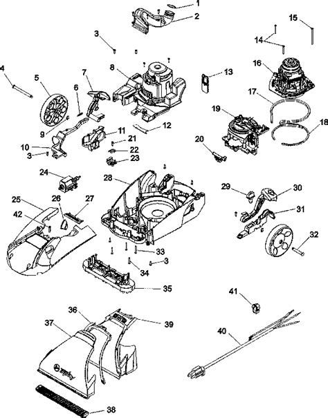 hoover steamvac parts diagram hoover steamvac replacement parts usa vacuum