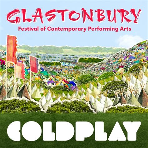 themes props glastonbury coldplay 2011 in my place live at glastonbury album