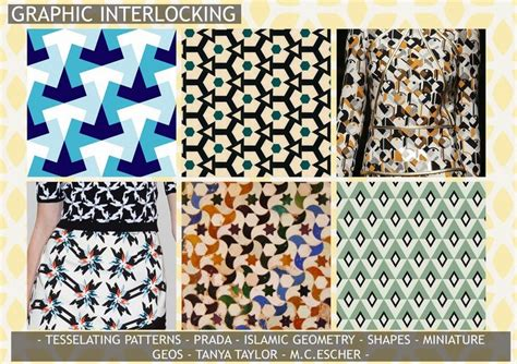 mosaic pattern trend graphic interlocking interlocking pattern geometric