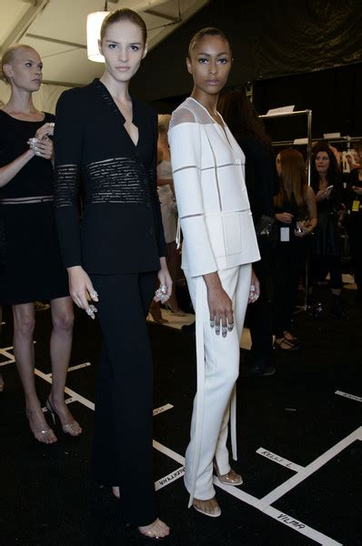 Backstage At Chado Ralph Rucci by Chado Ralph Rucci At New York Fashion Week 2014
