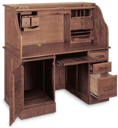 Small Roll Top Desk With File Drawer 1000 Images About Roll Top Desks On Pinterest Pedestal