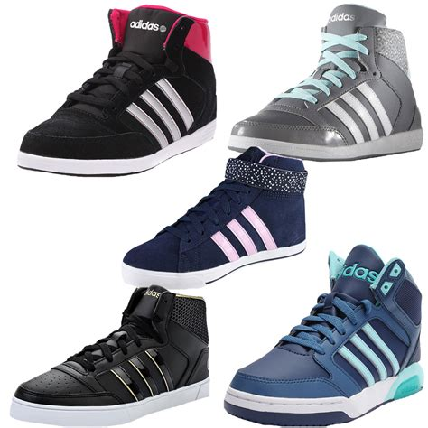 Adidas Neo Sport Shoes 213l womens adidas neo hoops vulc daily twist mid trainers hi top vl sports shoes ebay