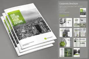brochure templates for it company corporate brochure brochure templates on creative market