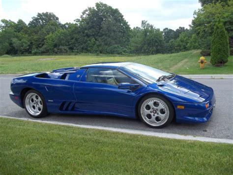 1998 Lamborghini Diablo For Sale 1998 Lamborghini Diablo Vt Roadster In Chiaro Blue