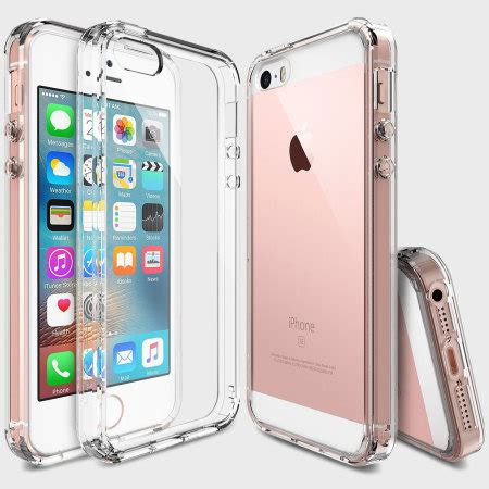 Ringke Slim Iphone 5 5s Se Casing Cover Bumper Hp Baby Skin rearth ringke fusion iphone se view