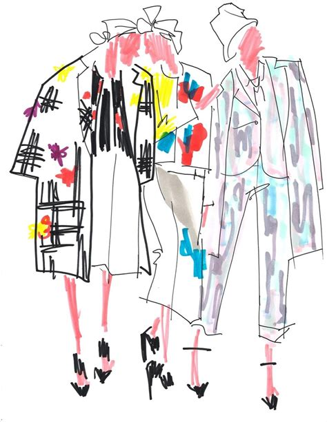 fashion illustration guide nyfw illustrated guide thom browne another
