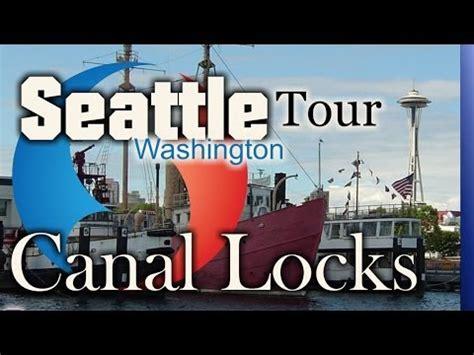 lake union boat tour seattle canal locks tour on lake union tour boat youtube