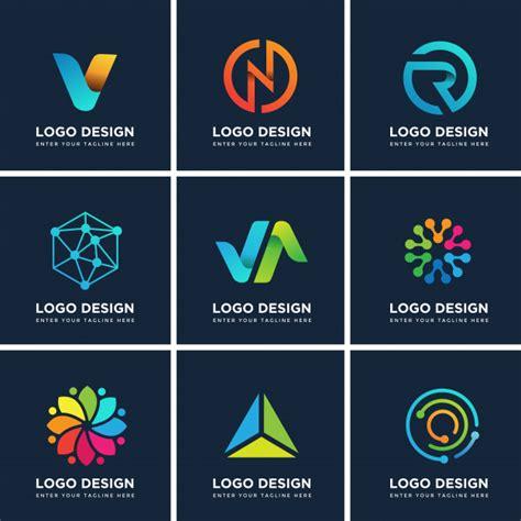 logo templates free word modern logo design templates set vector premium