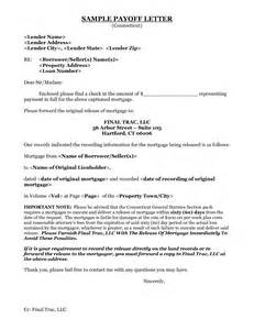 Mortgage Payoff Letter Template Unsecured Loan Payoff Loans For And Retired
