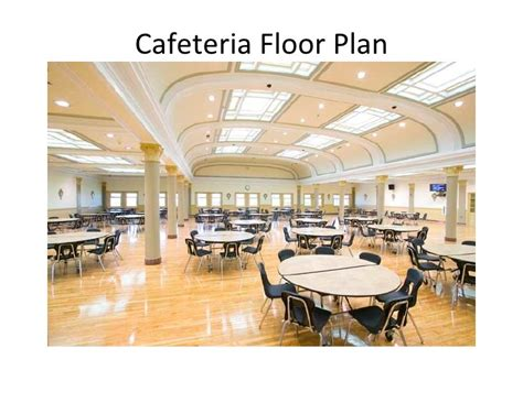 cafeteria floor plan cafeteria floor plan