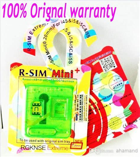 Sim Tray Simlock Ipad123 Original 50 promotion r sim r sim mini golden chip