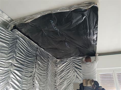 isolamento soffitto dall interno isolamento dall interno di pareti e soffitti con quot triso
