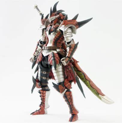 Revoltech Azure Armor Rathalos sentinel rathalos armor blademaster 4