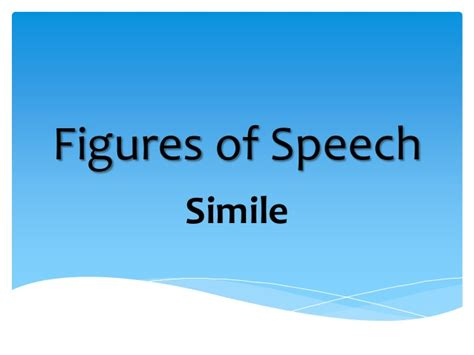Sle Of Simile Figure Of Speech 16 simile