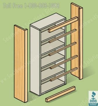 How To Trim Rack Of by Metal Shelving With Wood Trim Molding