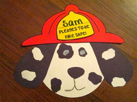 safety crafts for puppy craft safety week