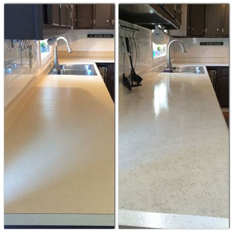 painted  countertops  rustoleum countertop coating