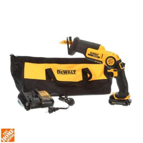 dewalt 12 volt max lithium ion pivoting reciprocating saw