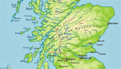 west highland way map booklet 1 25 000 os route mapping books reisverslag vakanties aldwin vakantie schotland west